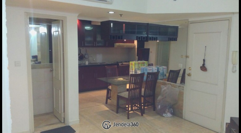 Kitchen Taman Rasuna Apartment Apartment