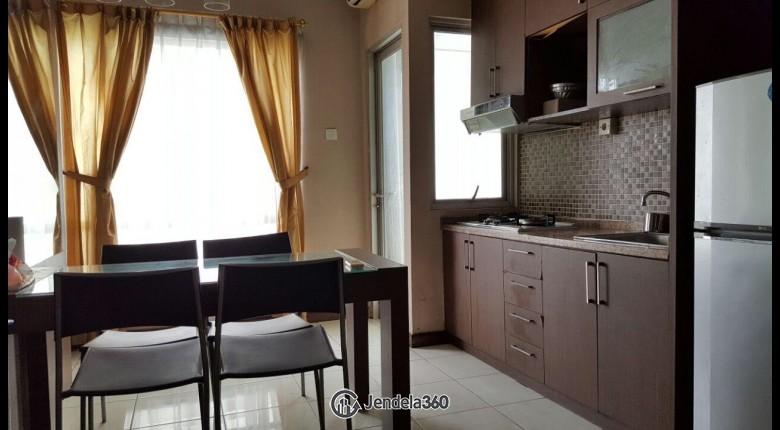 Kitchen Sudirman Park Apartment Apartment