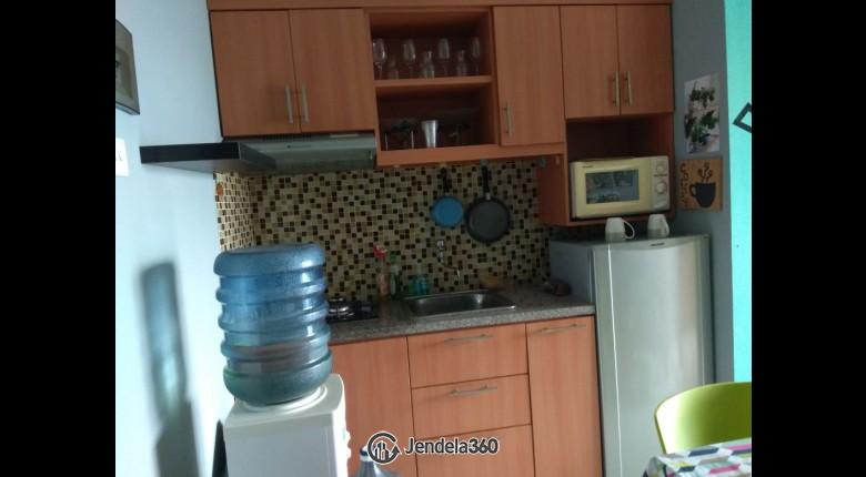 kitchen Salemba Residence Studio Fully Furnished Apartment