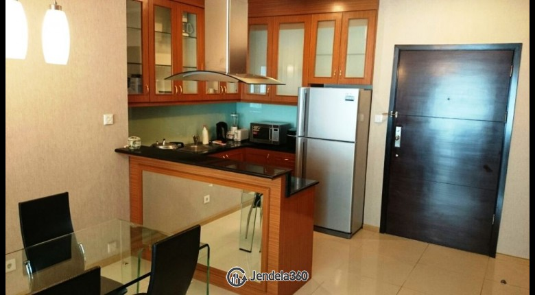 Kitchen Gandaria Heights Apartment