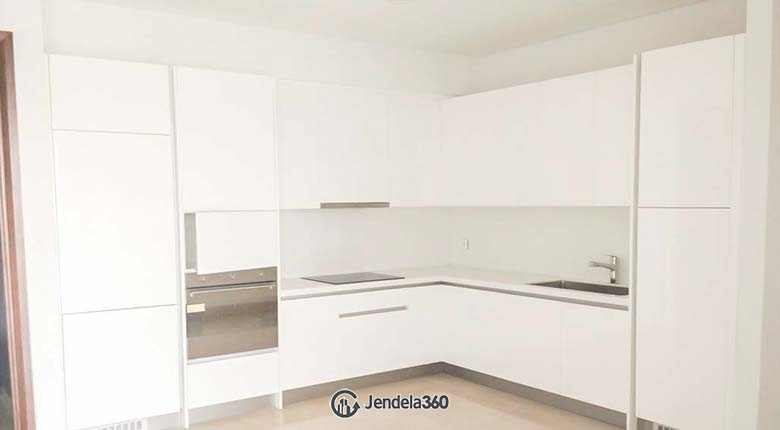 Kitchen Apartemen Oakwood Suites La Maison