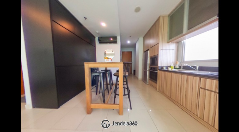 Kitchen Kuningan Place Apartment