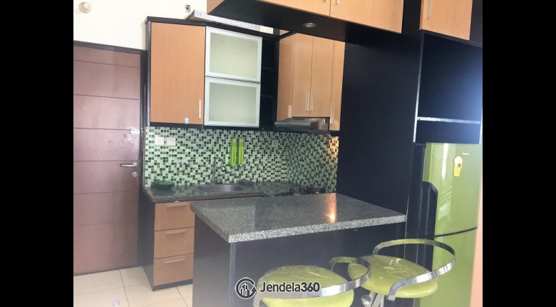 Kitchen Salemba Residence Apartment