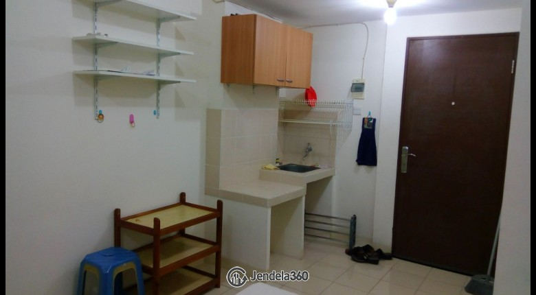 Kitchen Puri Park View Apartment