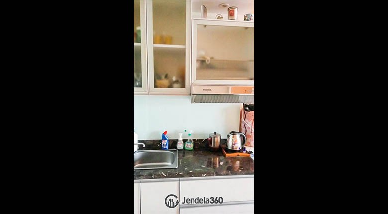 kitchen Apartemen Sunter Park View Apartment
