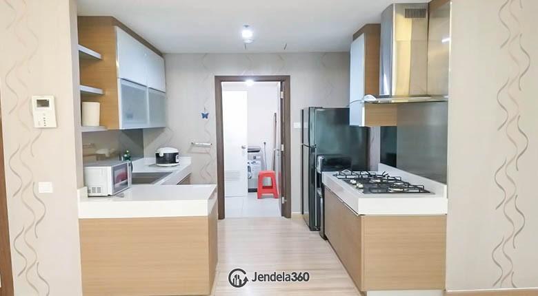 kitchen Apartemen ST Moritz Apartment