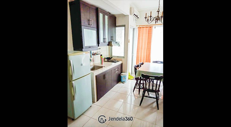 kitchen Apartemen Sudirman Park Apartment