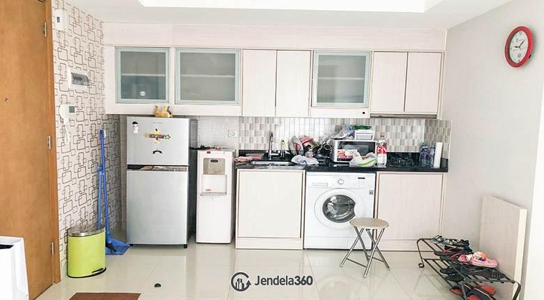 kitchen The Mansion Kemayoran Bougenville Apartment