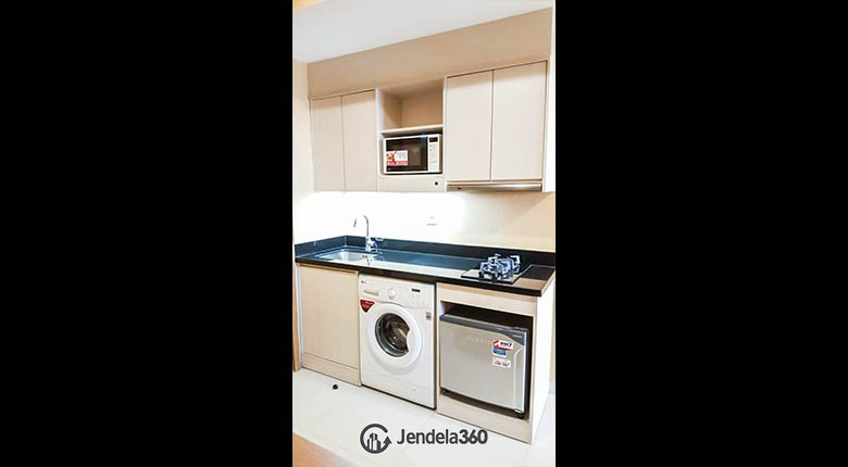 kitchen Apartemen The Mansion Kemayoran Bougenville