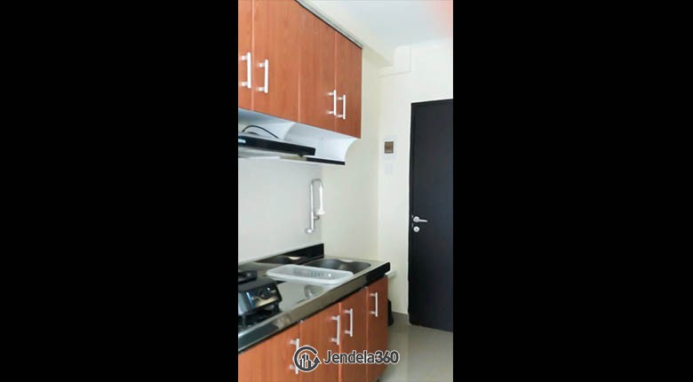 kitchen Grand Asia Afrika Residence Apartment