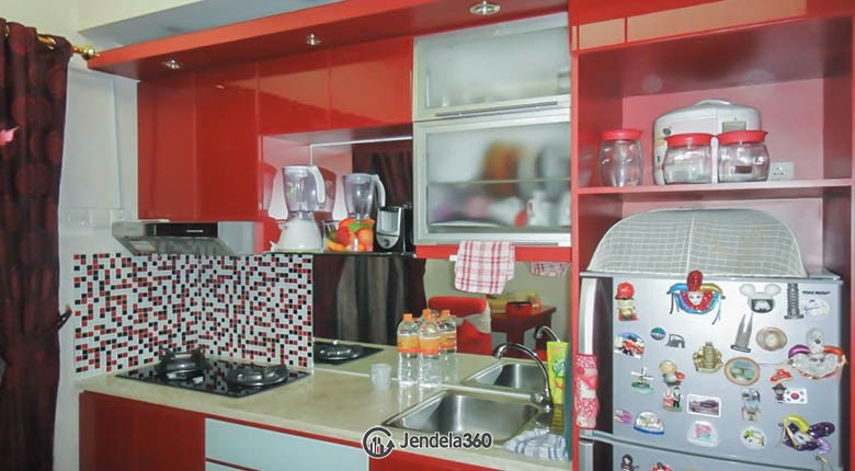 Kitchen Mediterania Marina Ancol Apartment