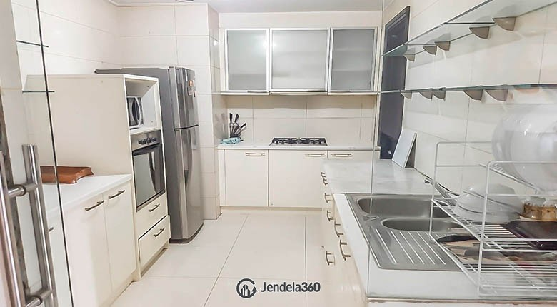 kitchen Somerset Permata Berlian Residence Apartment