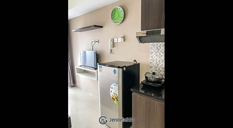 kitchen Apartemen Grand Dhika City Apartment