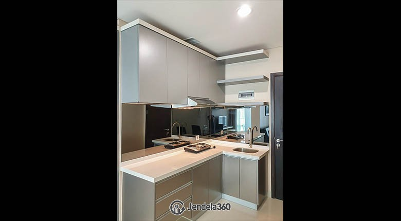 kitchen Brooklyn Alam Sutera Apartment