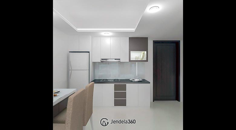 kitchen Apartemen The H Residences