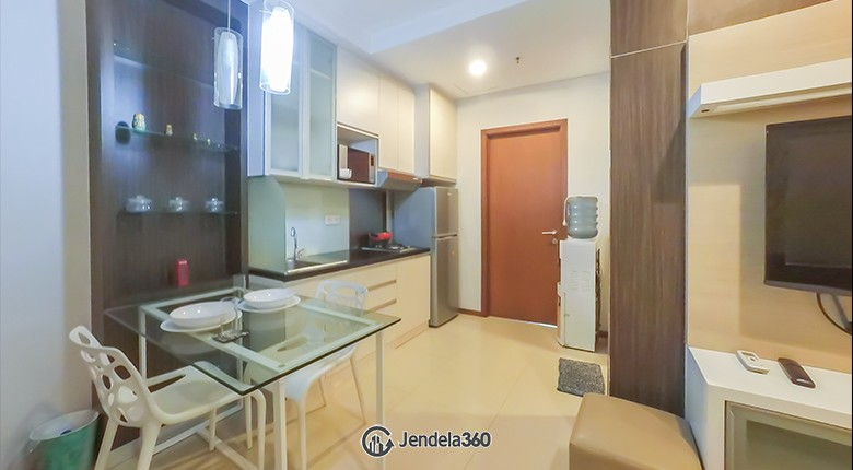 kitchen Thamrin Residence Apartment Apartment