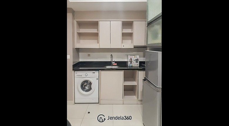Kitchen The Mansion Kemayoran Bougenville Apartment