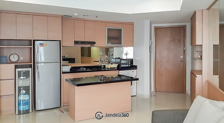 Kitchen The Mansion Kemayoran Jasmine Apartment