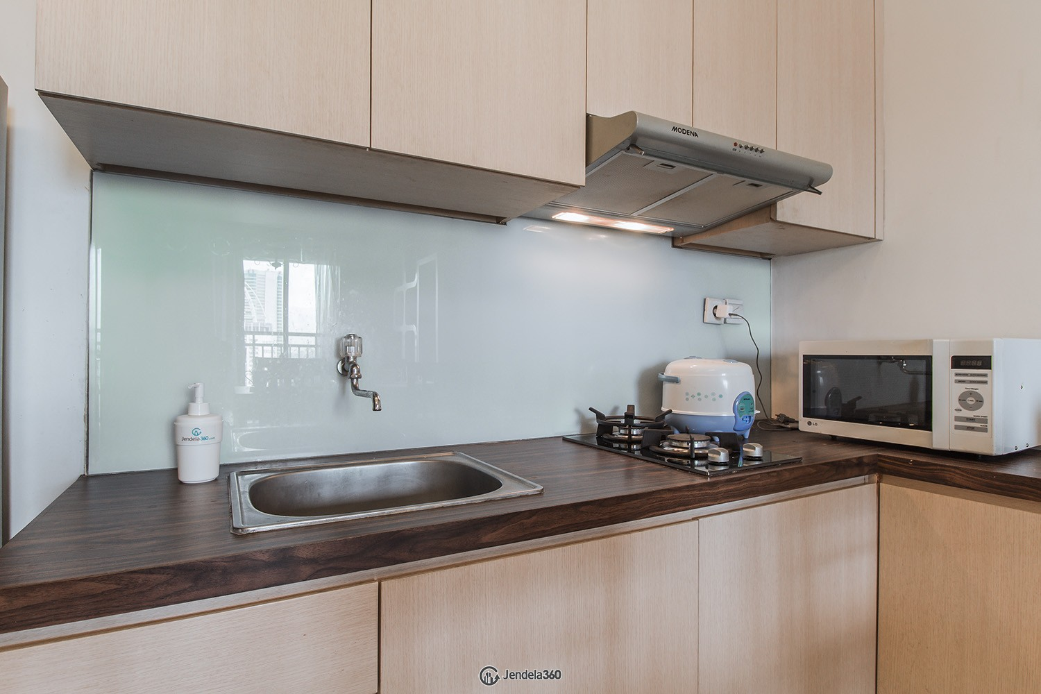 Kitchen Apartemen Cosmo Terrace - Thamrin City