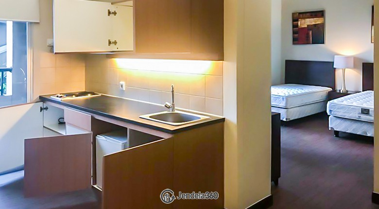 Kitchen Apartemen Mediterania Marina Ancol Apartment