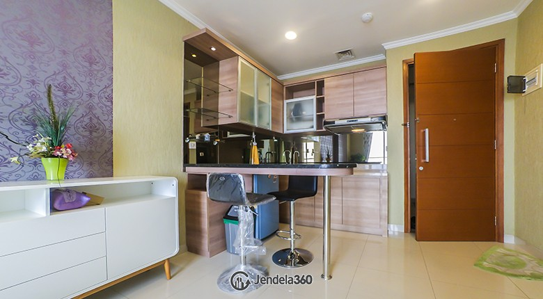 Kitchen Ancol Mansion Apartment