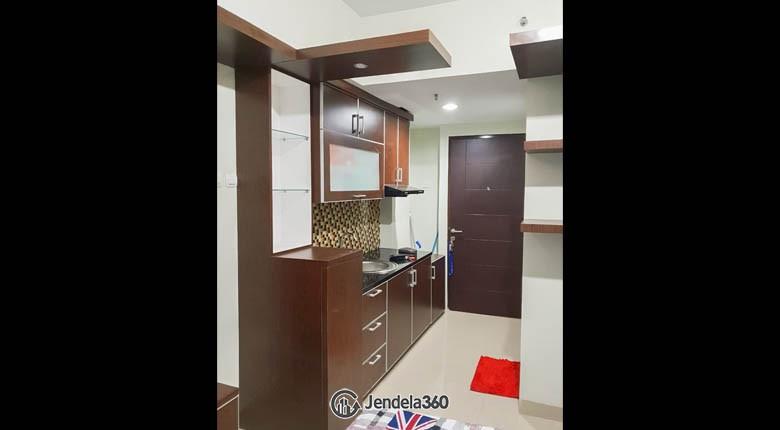Kitchen Grand Dhika City Apartment Apartment