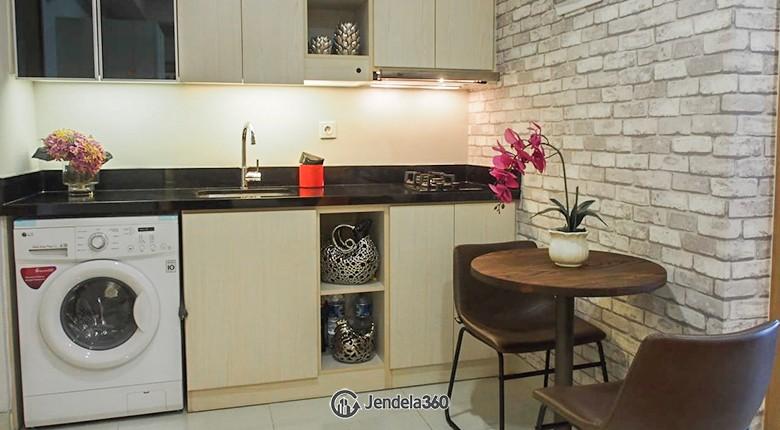Kitchen The Mansion Kemayoran Bougenville
