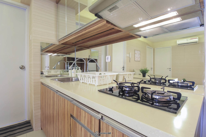 Kitchen Apartemen Bassura City Apartment