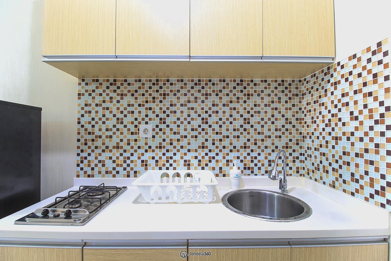 Kitchen Apartemen Tamansari Semanggi Apartment