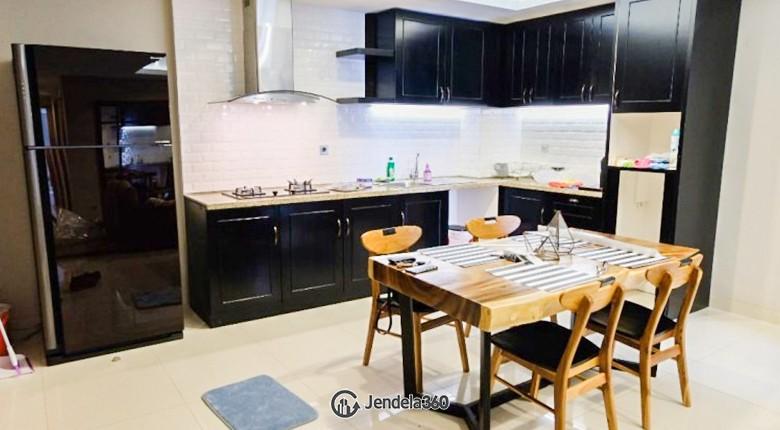 Kitchen The Mansion Kemayoran Jasmine Apartment