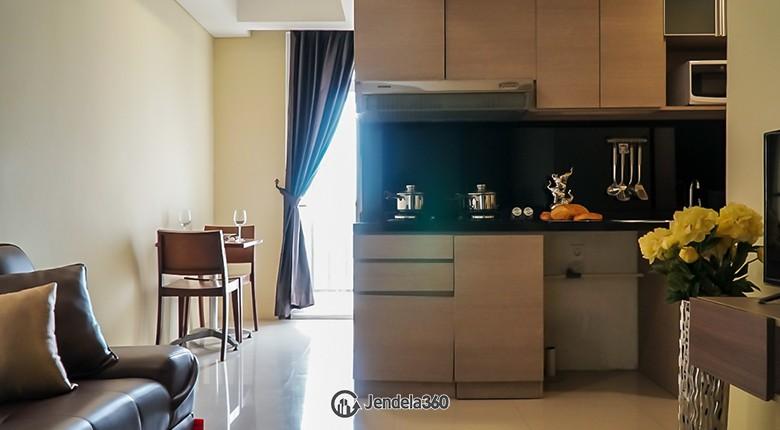 Kitchen Bandara City Apartment