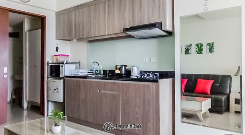 Kitchen The Accent Bintaro Apartment