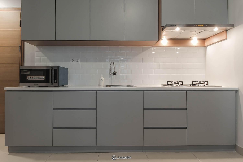 Kitchen Apartemen Hamptons Park Apartment