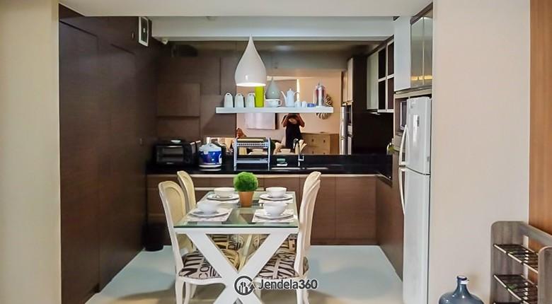 Kitchen Apartemen Taman Rasuna Apartment