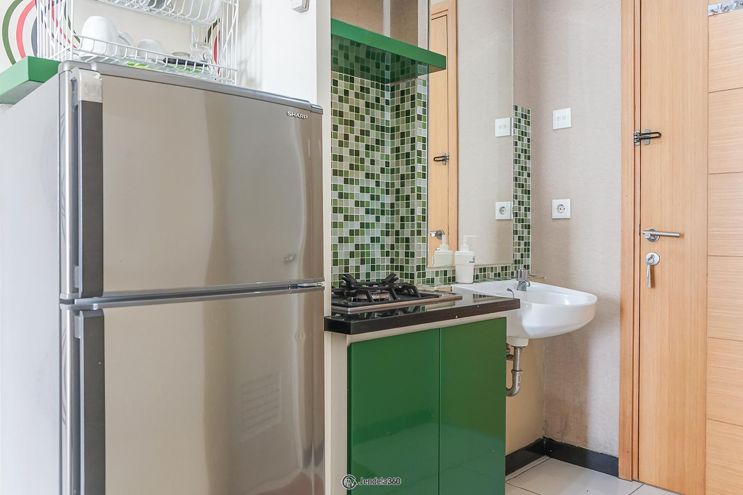 Kitchen Apartemen Signature Park Apartment