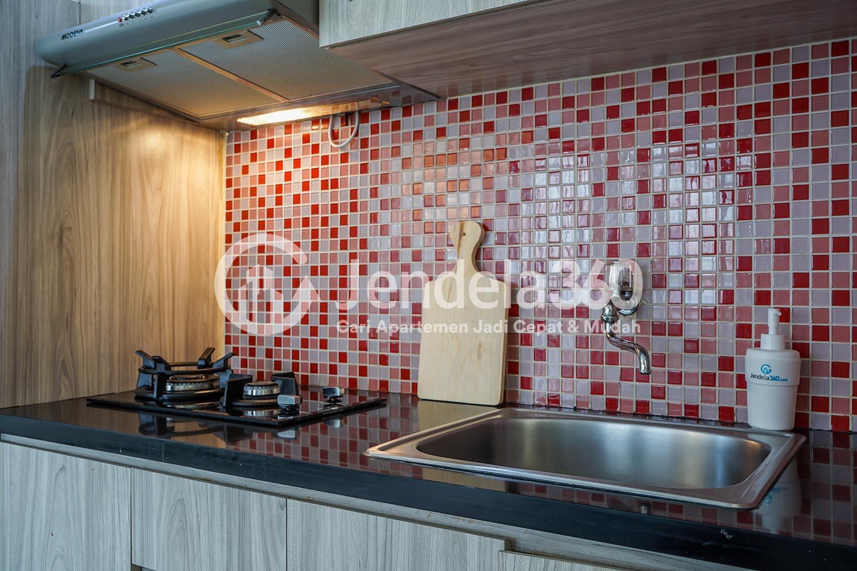 Kitchen Semanan Indah Apartment Apartment