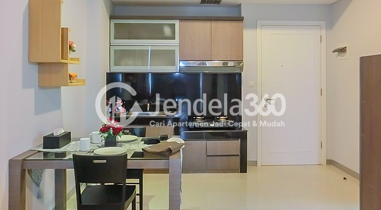 Kitchen Apartemen Silkwood Residence