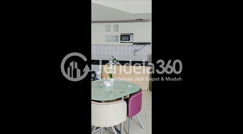 Kitchen Apartemen The Mansion Kemayoran Jasmine