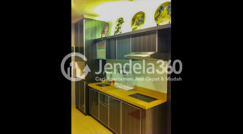 Kitchen Ancol Mansion Apartment Apartment