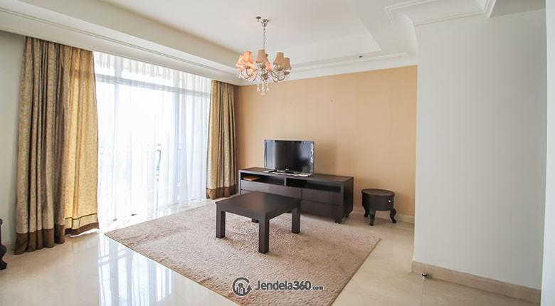 Living Room Pakubuwono View Apartment
