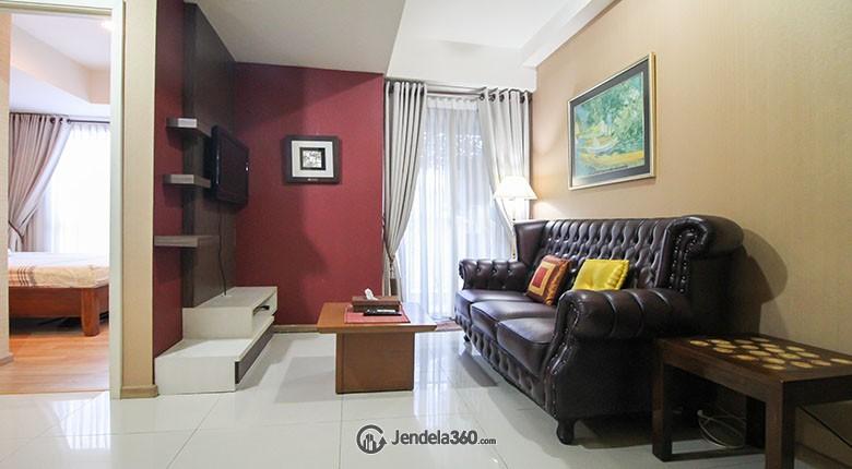 Living Room Apartemen Casa Grande Apartment