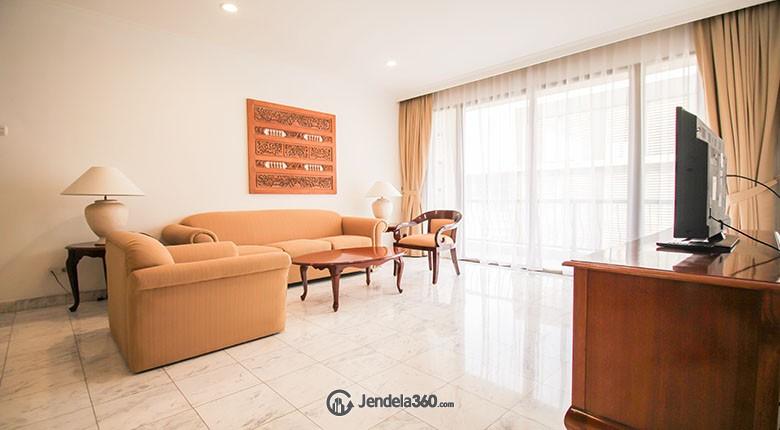 Living Room Menteng Regency Apartment