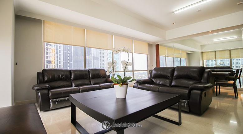 Living Room Sudirman Mansion Apartment