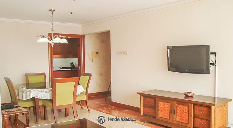 Living Room Apartemen Somerset Grand Citra Kuningan