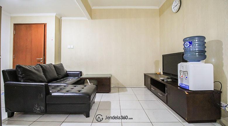 Living Room Sudirman Park Apartment Apartment