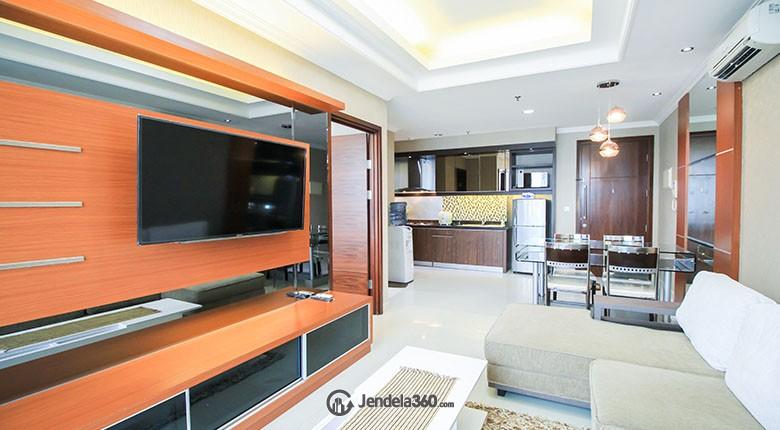 Living Room Apartemen Kuningan City - Denpasar Residence