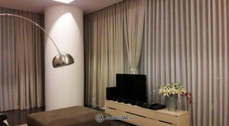 Living Room Apartemen Verde Residence