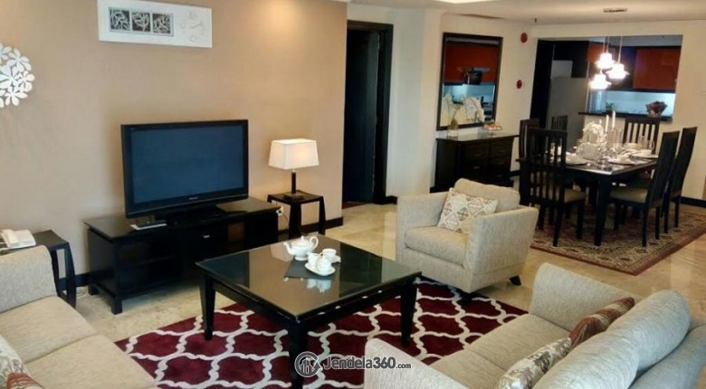 Living Room Pondok Indah Golf Apartment Apartment