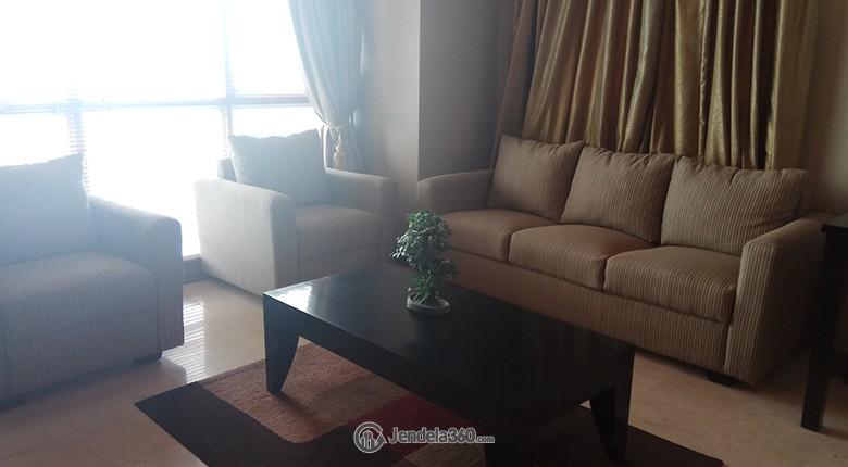 Living Room Apartemen Puri Imperium Apartment