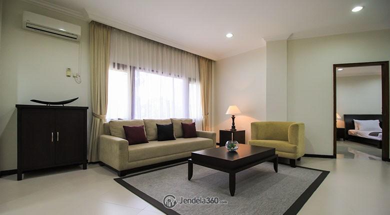 Living Room Pakubuwono Mansion Apartment